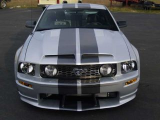 05 09 Ford Mustang GT500 Style RAM Air Functional Hood Body Kit