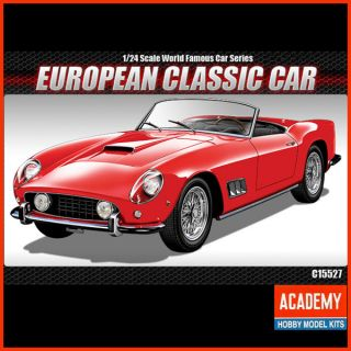 European Classic Car Euro Model Kit Original Academy Transport Toy 1 24 Scale