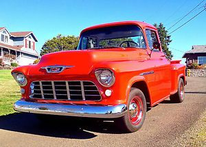 1955 Chevy Pickup Truck 3100 1 2 Ton Short Bed Step Side Gyspy Red