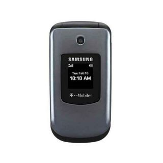 Samsung T139 Silver Unlocked GSM Cell Phone w Camera
