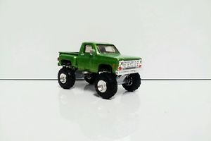1 64 Custom Lifted 1975 Chevy 4x4 Short Bed Step Side Ertl Farm Toy Truck DCP