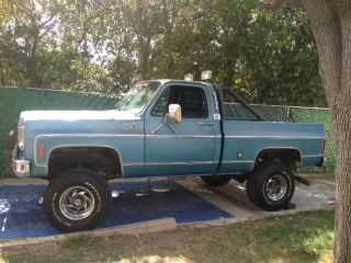 "1978 GMC C K 1500 Truck Short Bed 4x4 4WD 6"" Lifted CA Car Chevy Pick Up 78 1500"