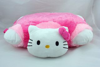 19''Hello Kitty Cat Transforming Pet Car Sofa Bed Pillow Cushion Soft Plush Toy