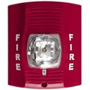 Wireless WiFi Fire Alarm Strobe Light IP Internet Network Spy DVR Camera