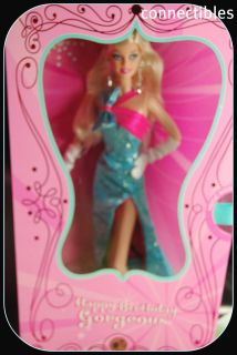 Barbie Happy Birthday Gorgeous Doll New Fun in Stock
