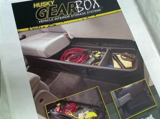 Husky Liners Custom Fit Gearbox Under Seat Storage System for Select Ford F 150