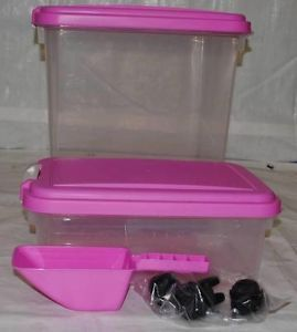 Iris Airtight Pet Food Container Combo Kit
