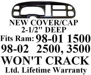 Dodge RAM Dash Bezel Cover Cap Dashboard Board Instrument Gauge Trim Kit Panel P