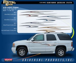 Universal Products Bladerunner Car or Truck Graphic Kit