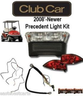 Club Car Precedent 2008' Newer Electric Golf Cart Light Kit with Bucket Harness