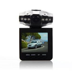 "270°2 5"" LCD 6 IR LED HD Vehicle Car DVR Video Camera Audio Recorder AV Out"