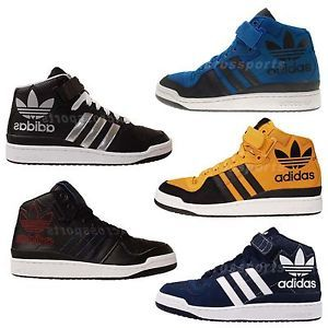 Adidas Originals Forum Mid RS XL Trefoil Mens Casual Shoes 5 Select 1