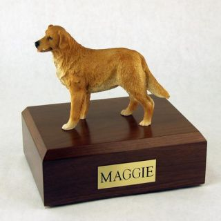Dog Golden Retriever Standing Figurine Pet