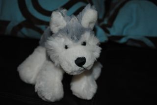 Webkinz Siberian Husky Wolf Plush Stuffed Animal Puppy Dog Cute Soft
