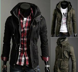 Fashion Hot Mens Slim Fit Casual Vintage Jumper Collection Hoodies Jackets