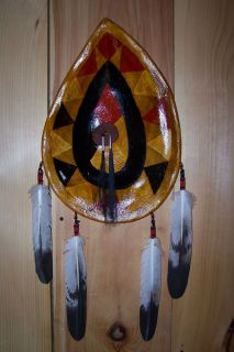 Native American Style Rawhide Shield