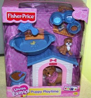 Fisher Price Loving Family Puppy Playtime New