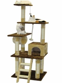 Cat Tree House Toy Bed Scratcher Post Furniture F215