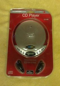 Durabrand Programmable Compact Disc CD Player CD 566 Headphones Red Brand New