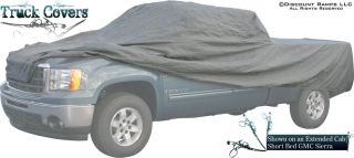 New Full Size Short Bed Truck Cover Extended Cab Pickup
