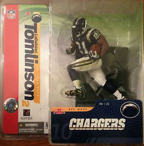 Ladanian Tomlinson San Diego Chargers McFarlane Series 10 Blue
