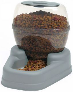 Bergan Small Petite Pet Dog Cat Feeder 6 lbs Automatic