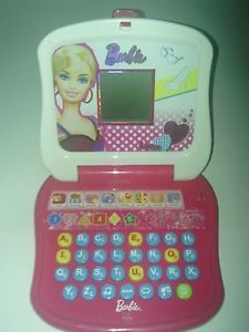 Barbie Child'Stalking Laptop Learning Computer Mattel