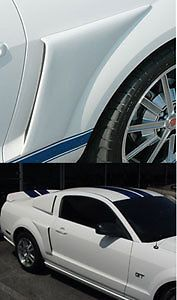 2005 2009 Ford Mustang Legend Quarter Panel Side Scoops