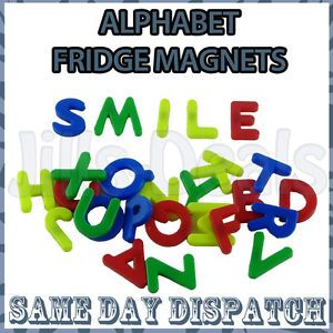 26 PC Magnetic Letters Fridge Alphabet Magnets A Z Baby Kids Child Education Set