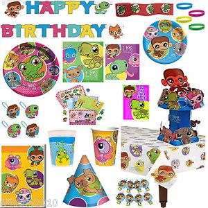 Littlest Pet Shop LPS Birthday Party Supplies Create Your Own Set You Pick