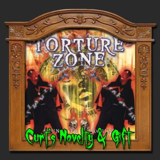 Torture Zone Halloween CD Haunted House Scary Prop