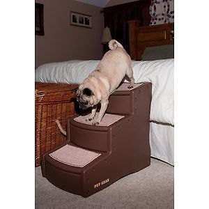 Pet Gear Easy Step III 3 Steps Dog Cat Pet Steps Ramp