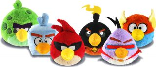 Angry Birds Space 6 or 8 inch Plush Soft Toy All Characters Available