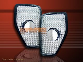 2006 2010 Hummer H3 Clear Front Side Marker Lights