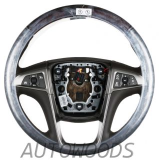 GM Buick Lacrosse Steering Wheel Cocoa Accessory New 2010 2013