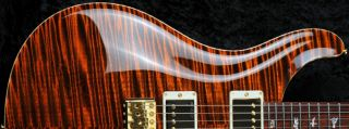 PRS Private Stock Custom 24 Orange Tiger High Gloss Nitro 53 10's 3371 Guitar