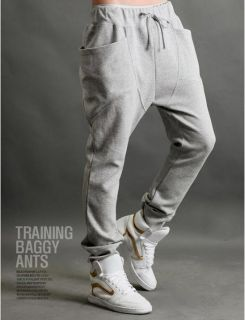 Hot Men's Casual Rop Sports Pants Harem Trousers Pants Training Baggy Pants
