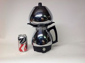 Vintage 1960s Sunbeam Coffeemaster C50 Electric Vacuum Coffee Maker Mid Century