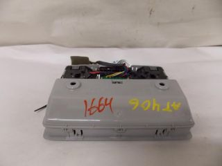 03 03 Mazda 6 Sunroof Switch Interior Lights Cubby Overhead Console 2003 1664