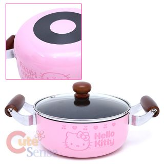 Sanrio Hello Kitty Kitchen Cookware Pink Cooking Set