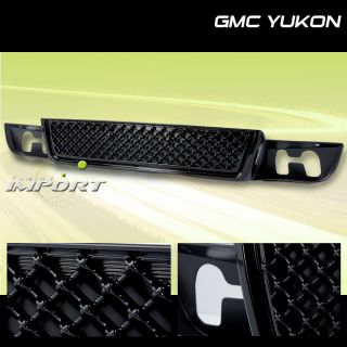 07 10 GMC Yukon Denali XL Diamond Mesh Lower Grille 08