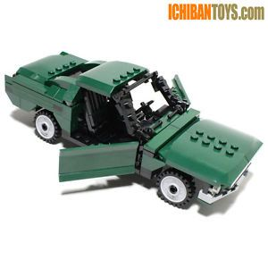 New Lego Custom 1968 Ford Mustang GT 390 Fastback from Bullitt Complete Kit