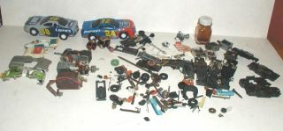 "Aurora Tyco "" Vintage Bodies Parts Junk Yard Lot "" Loop Track Control"