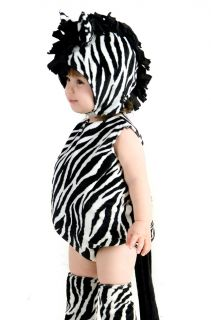 Baby Zebra Outfit Cute Zoo Animal Infant Toddler Halloween Costume