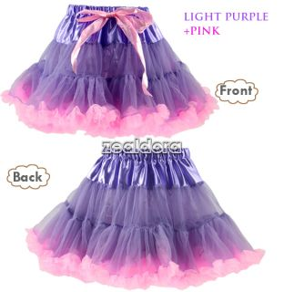 Beautiful Girls Baby Zebra Princess Ballet Dance Costume Tutu Dress Skirt Z00D