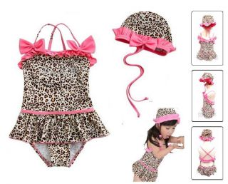 Age 1 8 Baby Kids Boys Girls Swimming Suit Costume Sexy Biniki Swimwear Set