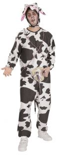 Mad Cow Funny Adult Mens Couples Halloween Costume O S