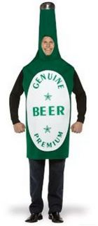 Costumes Walking Beer Bottle Costume Irish Green St
