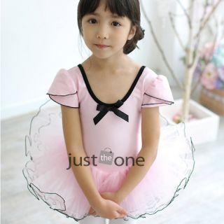 Children Kids Girl Ballet Dancewear Costume Party Princess Style Tutu Dress 3 8Y