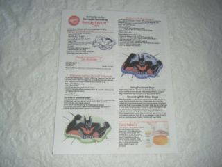 Batman Beyond Cake Tin 2000 Wilton Pan 2105 9900 Aluminum Older Pan